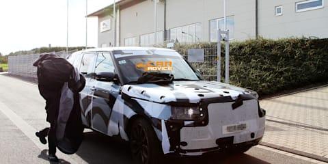 2013 Range Rover spy photos