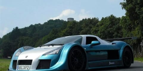 Gumpert Apollo Sport annihilates Nurburgring