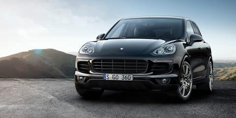 2017 Porsche Cayenne S, S Diesel Platinum Editions on sale in Australia