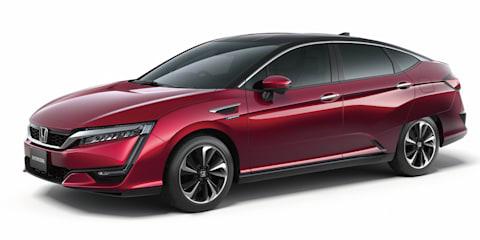 Honda FCV hydrogen-powered production sedan revealed