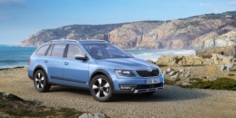 Skoda Octavia Scout revealed