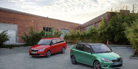 Skoda Fabia vRS launches in the UK