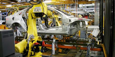 Holden announces big production cuts