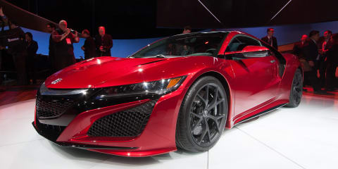 Honda NSX : Final production version of second-generation supercar revealed