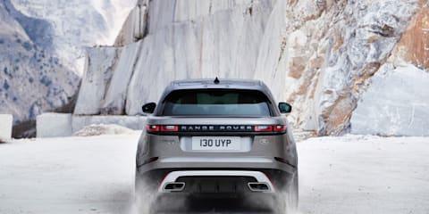 Range Rover Velar points to an evolved design language