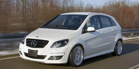 Mercedes-Benz B55 B-Class created by Mercedes-Benz apprentices