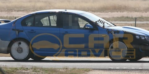 2010 FPV GT-H spied, supercharged 5.0-litre Coyote V8