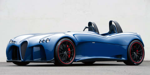 Wiesmann Spyder design study unveiled at Geneva