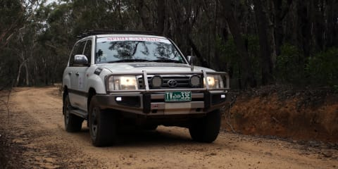 Off-roading with Navman Drive Duo SUV