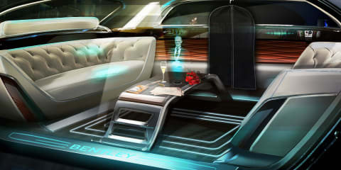Bentley previews 'Future of Luxury' with 2036 interior design concept