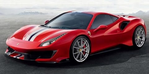 Ferrari 488 'Pista' leaked - UPDATE