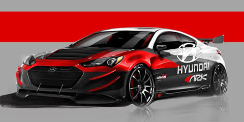 Hyundai Genesis Coupe: 295kW Korean headed for SEMA
