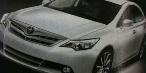2012 Toyota Camry previewed in image, videos