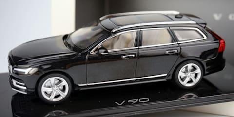 2016 Volvo V90 revealed via scale model leak