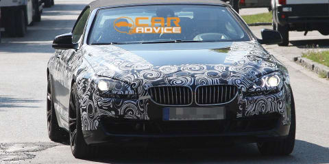 2012 BMW M6 convertible spied on public streets