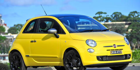 2012 Fiat 500 and 500C TwinAir on sale in Australia