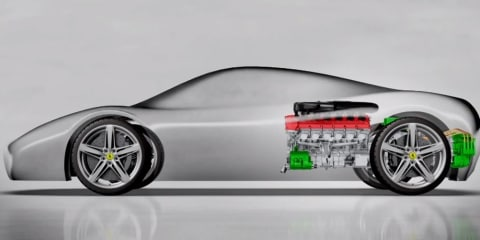 Ferrari KERS technology evolves