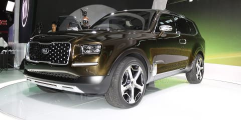 Kia Telluride:: 298kW hybrid SUV concept hits Detroit show