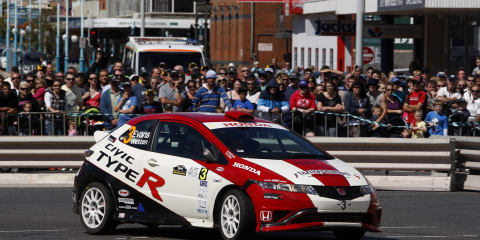 Honda Civic Type R at Rally of Tasmania