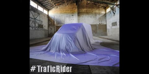 Renault TraficRider concept teased