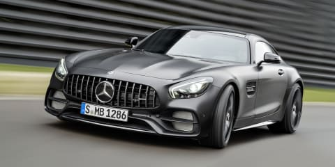 Mercedes-AMG GT C runs to 300km/h - video