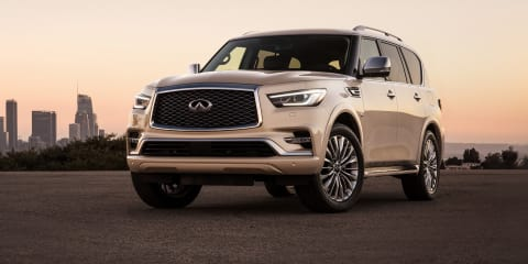 2018 Infiniti QX80 detailed ahead of Australian debut