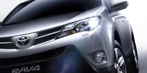 2013 Toyota RAV4 images leaked: interior and exterior revealed
