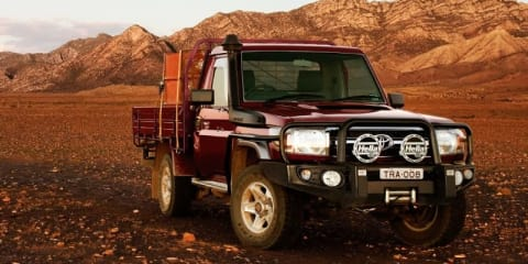 Toyota LandCruiser 70 Series now available with airbag compatible bullbar