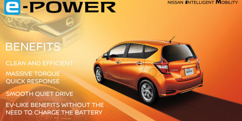 Nissan e-POWER range-extender electric drivetrain revealed