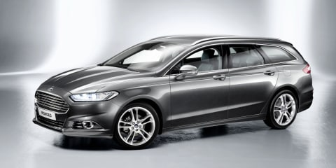 2013 Ford Mondeo wagon and hybrid revealed