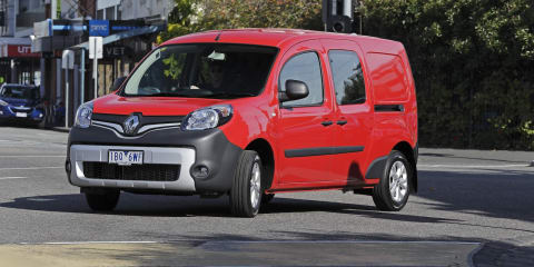 2014 Renault Kangoo pricing and specifications : Five-seat Maxi Crew joins small van range