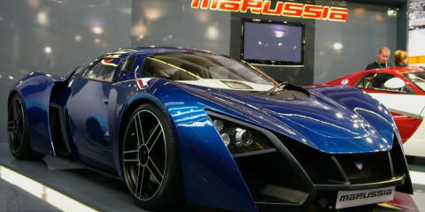 MARUSSIA – Russian for sports car