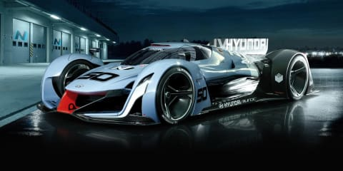 Hyundai N 2025 Vision Gran Turismo concept highlights new high-performance N sub-brand