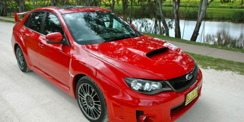 Subaru WRX STI vs Volkswagen Golf R vs Mitsubishi Lancer Evolution X