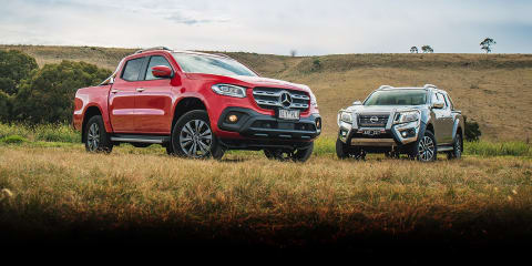 REVISIT: Mercedes-Benz X250d Progressive v Nissan Navara ST-X comparison