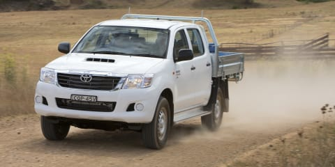 Toyota HiLux 4x4 SR Double Cab chassis diesel auto arrives at $43,740