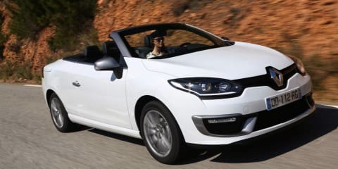 2015 Renault Megane Coupe-Cabriolet : facelifted model on sale from $38,490