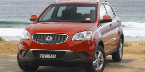 2011 Ssangyong Korando on sale in Australia