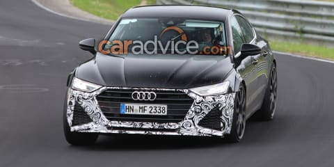 2019 Audi RS7 Sportback spied