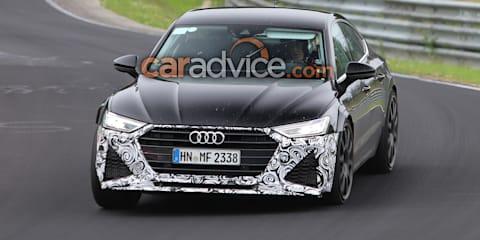 2019 Audi RS7 Sportback spied