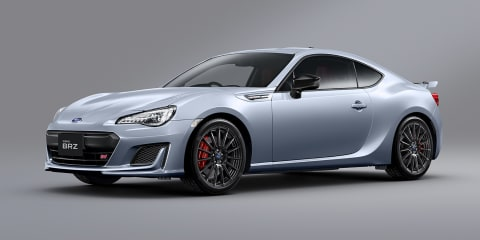 2019 Subaru BRZ revealed for Japan