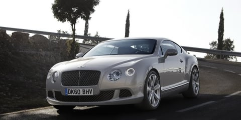 Bentley: New Cars 2012