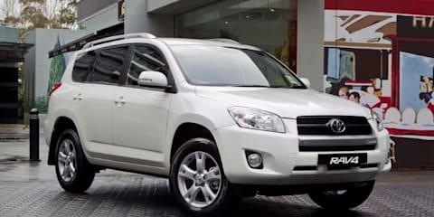 Toyota RAV4 Altitude limited edition on sale in Australia