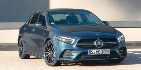 2019 Mercedes-AMG A35 Sedan revealed, here late 2019