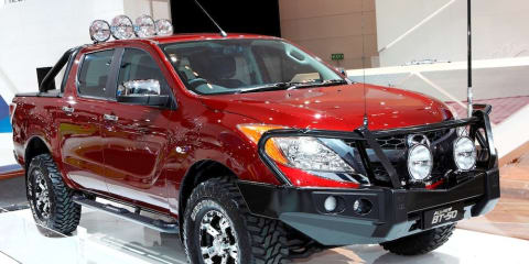 Mazda BT-50 available from launch with Australian-made airbag-compatible bull bar