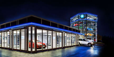 Giant used car vending machine opens in the USA
