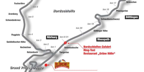 Driving the Nordschleife (Nurburgring)