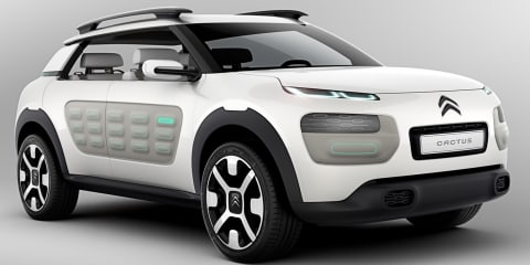 Citroen Cactus concept: air-propelled crossover leaked