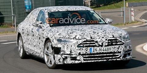 2018 Audi S8 spied testing