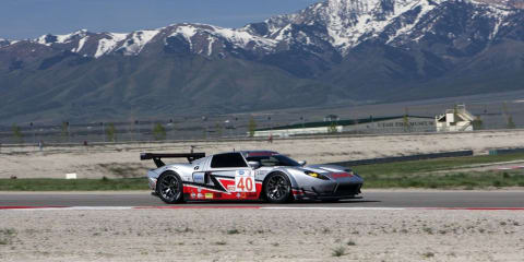 Ford GT on track in Salt Lake City